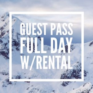 Guests: Full Day WITH Rental
